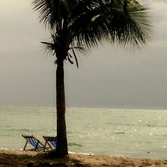 Photo taken at Sai Keaw Beach by Oilyzaa on 6/17/2012