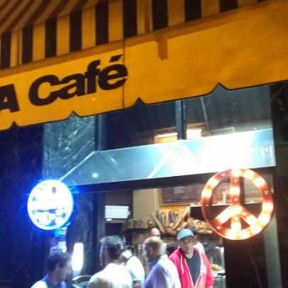 Photo taken at LA Café by lock on 7/21/2012
