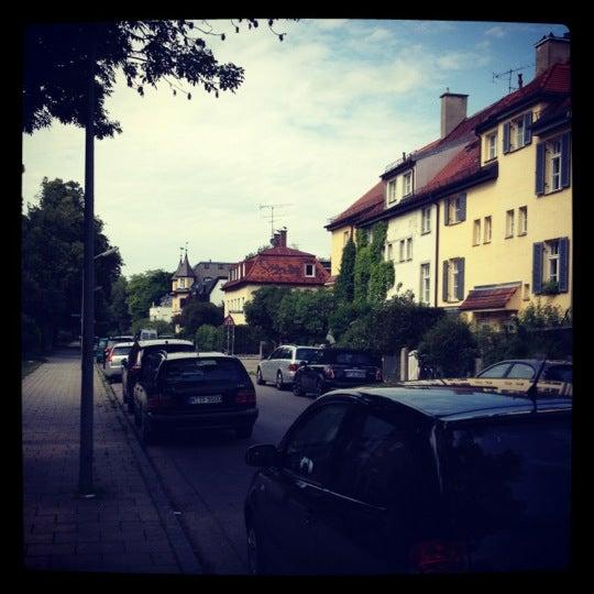 Foto tirada no(a) Hotel Laimer Hof por Aleksander P. em 6/4/2012