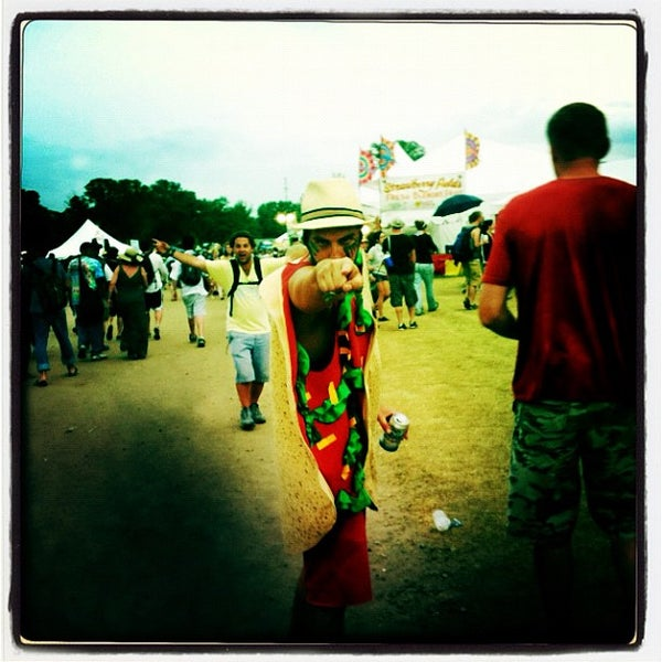Photo taken at Bonnaroo Music & Arts Festival by Brian G. on 6/11/2012