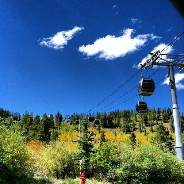 Photo taken at Breck Connect Gondola by Stacy S. on 9/9/2012