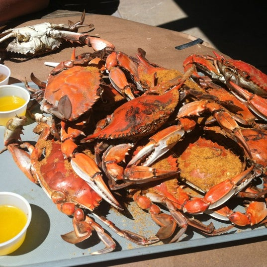 Photo taken at May's Crab & Seafood by Zoë C. on 5/11/2012
