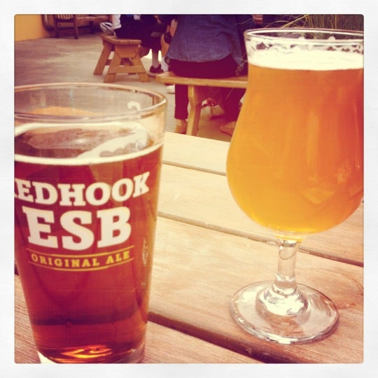 Photo taken at Redhook Brewery by Chelsea F. on 6/11/2012