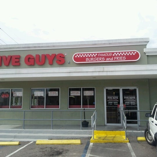 Menu - Five Guys