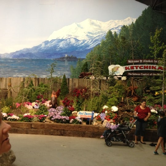 Photo taken at Hall of Flowers by David S. on 8/1/2012