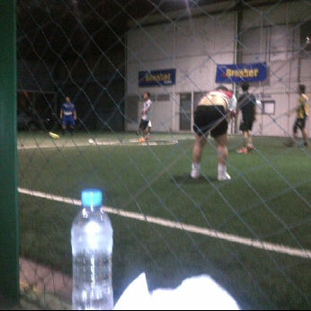 Photo taken at SD Indoor Soccer by Narit Y. on 2/22/2012