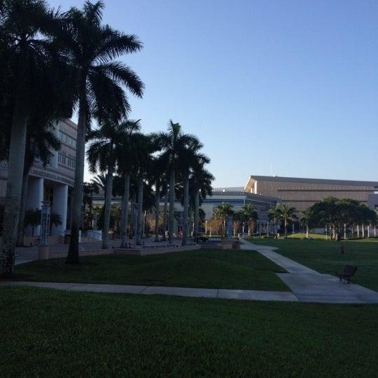 Photo taken at NSU: Alvin Sherman Library by Eddie Z. on 2/24/2012