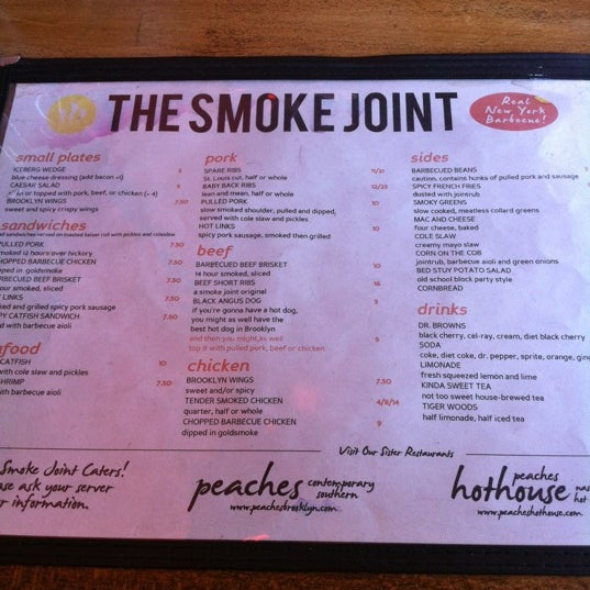 Photo taken at The Smoke Joint by Becky on 2/20/2012