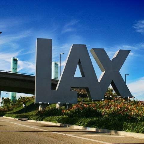 Photo taken at Los Angeles International Airport (LAX) by Melani M. on 9/6/2012