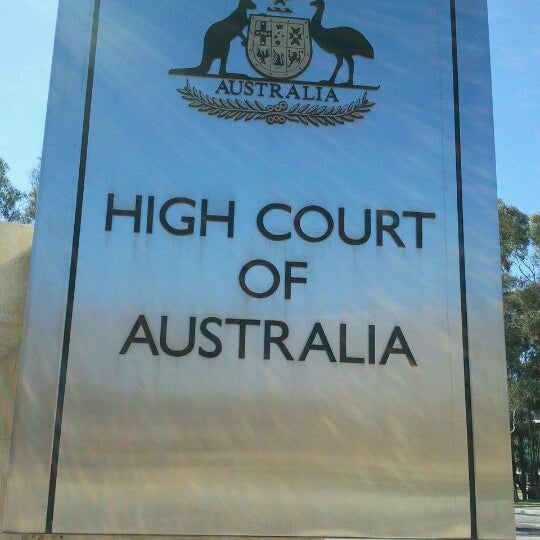 the high court of australia has The high court of australia has decided the federal court has discretion to order a cfmeu official to personally pay a fine.