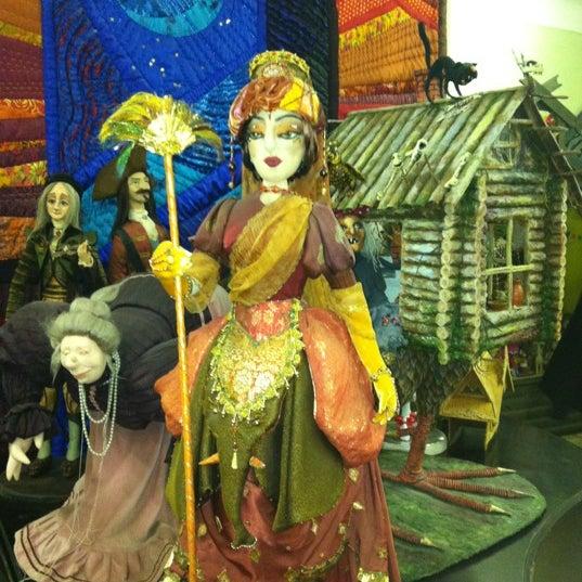 Снимок сделан в Музей кукол пользователем Инна П. 5/19/2012