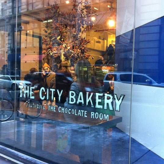 Photo taken at The City Bakery by Ron K. on 1/16/2012