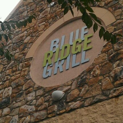 Photo taken at Blue Ridge Grill by Ed L. on 8/18/2011