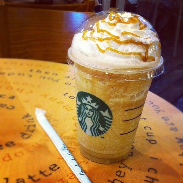 Photo taken at Starbucks by Ton A. on 1/28/2012