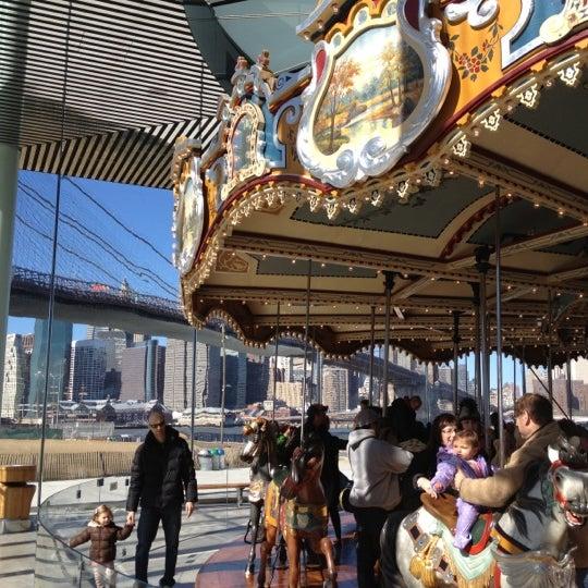 Photo taken at Jane's Carousel by Justin G. on 2/26/2012