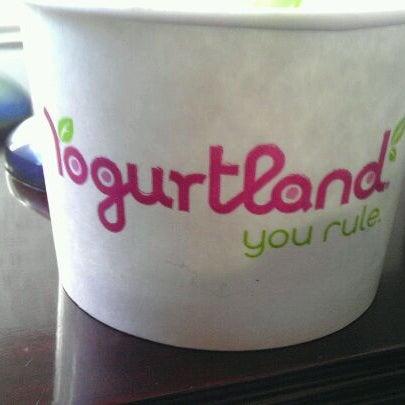 Photo taken at Yogurtland by Jared S. on 1/6/2012