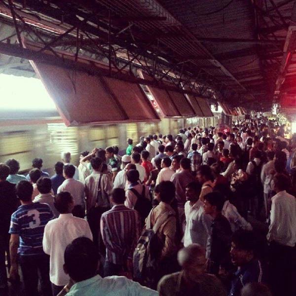 Photo taken at Dadar Railway Station by Ankit S. on 6/17/2012