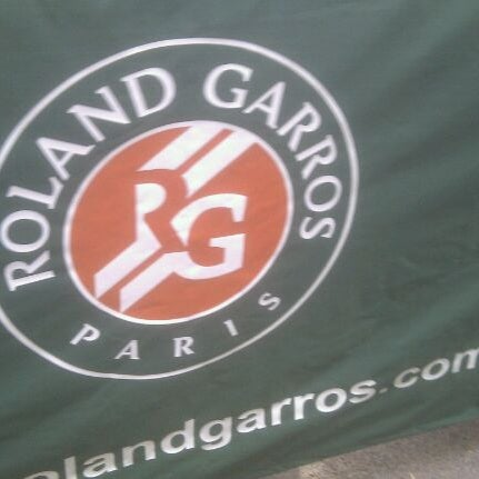 Photo taken at Stade Roland Garros by Wouter K. on 6/2/2012