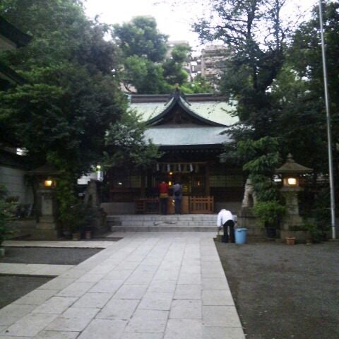 Photo taken at 大塚天祖神社 by yugopixy on 9/24/2011