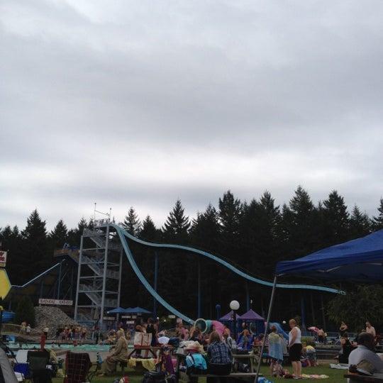 Cultus Lake Resort Bc: Cultus Lake Waterpark And Waterslides