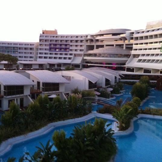 10/6/2011 tarihinde Sinan X.ziyaretçi tarafından Cornelia Diamond Golf Resort & Spa'de çekilen fotoğraf