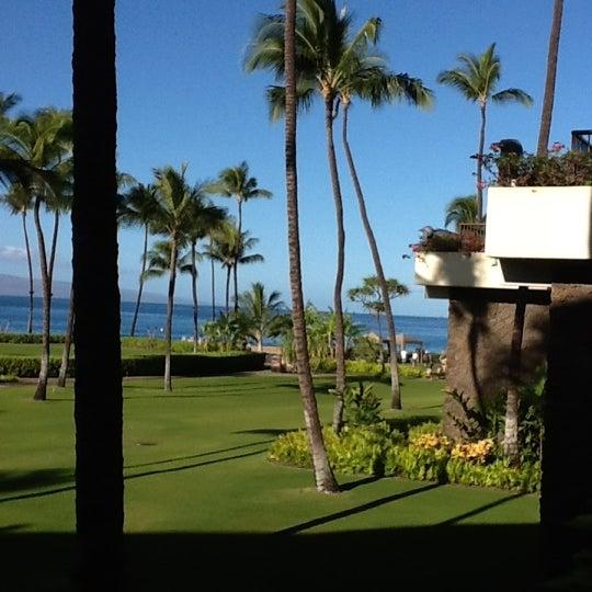 Photo taken at Sheraton Maui Resort & Spa by Kris L. on 1/7/2012