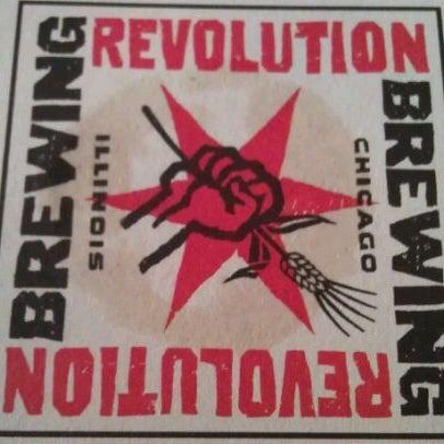 Photo taken at Revolution Brewing by @MisterHirsch on 10/15/2011