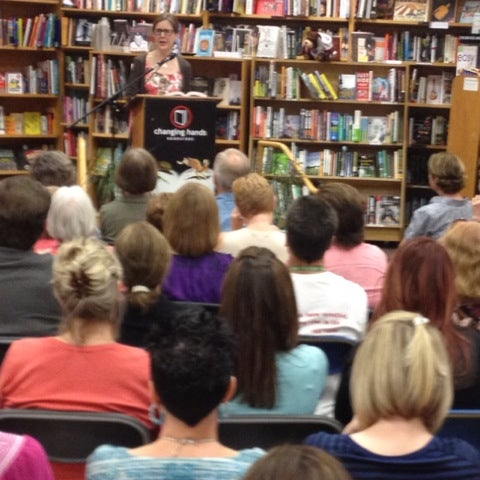 Photo taken at Changing Hands Bookstore by Roseann H. on 5/11/2012