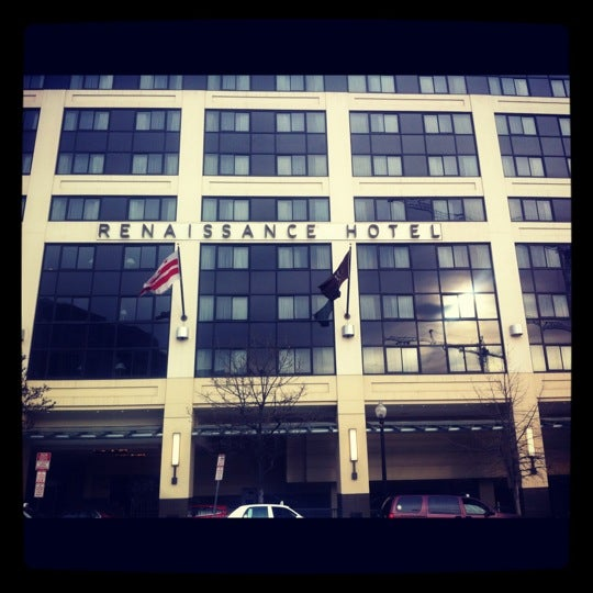 Photo taken at Renaissance Washington, DC Downtown Hotel by Fresco R. on 3/8/2012