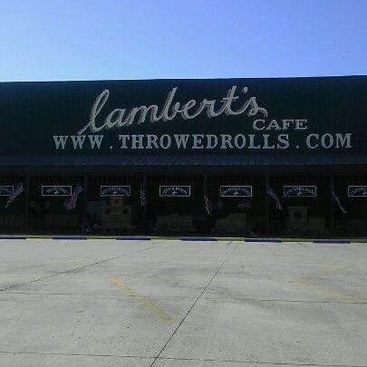 Photo taken at Lambert's Cafe by David S. on 8/15/2011