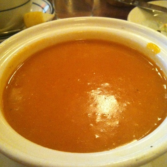 Photo taken at La Bonne Soupe by Leslie T. on 4/5/2012