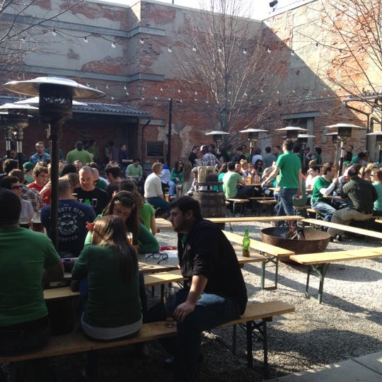 Photo taken at Frankford Hall by Adrienne D. on 3/17/2012