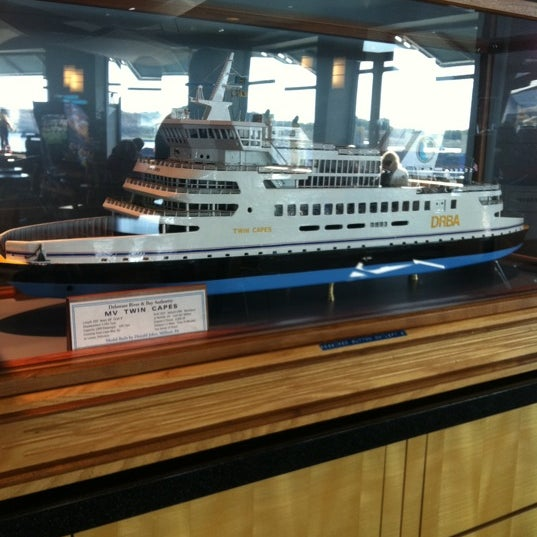 Photo taken at Cape May-Lewes Ferry | Cape May Terminal by Lisa Anne M. on 10/8/2011