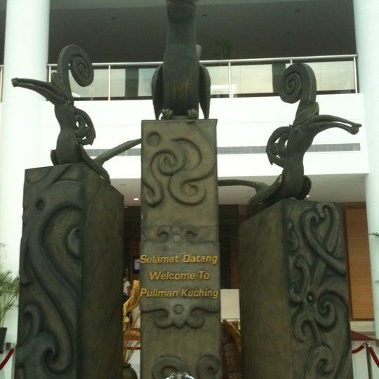 Photo taken at Pullman Kuching by Anoth R. on 9/28/2011