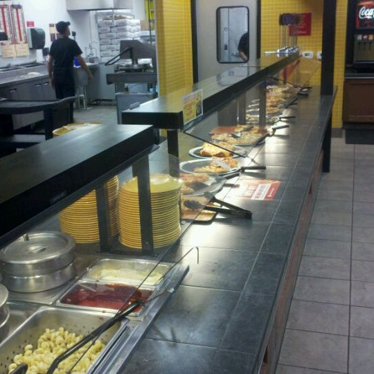 Photo taken at Cicis by Shem B. on 4/5/2012