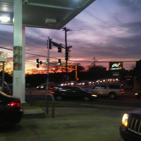 Photo taken at Exxon by Alli C. on 11/18/2011