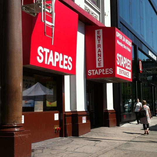Find STAPLES locations near you. See hours, directions, photos, and tips for the 35 STAPLES locations in New York City.