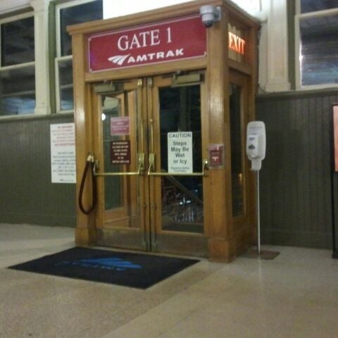 Photo taken at Amtrak: Harrisburg Transportation Center (HAR) by Red H. on 1/5/2012