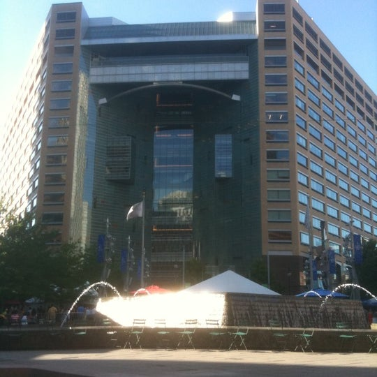 Photo taken at Campus Martius by Michael S. on 7/15/2011