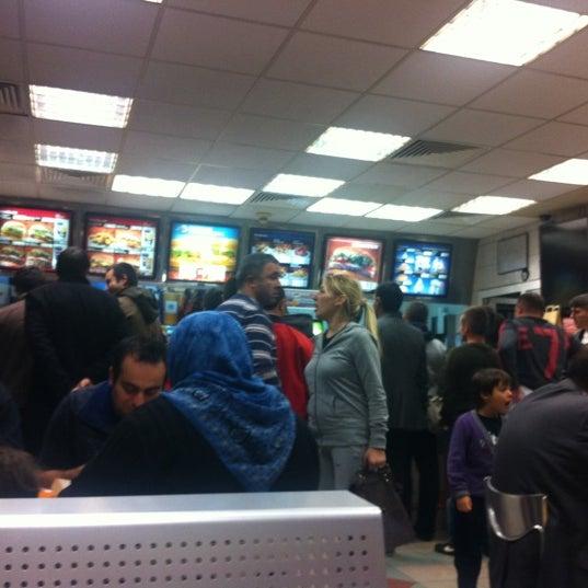 Photo taken at Burger King by Zeynep t. on 11/4/2011