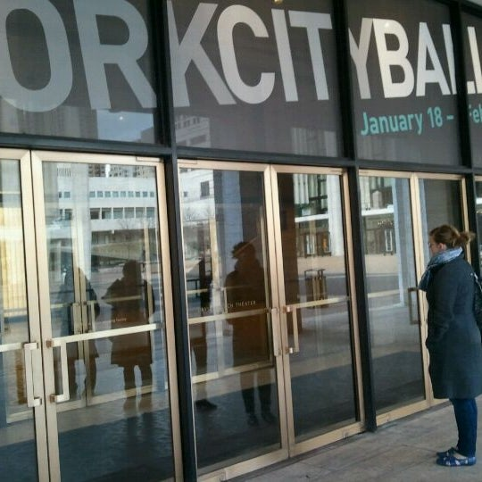 Photo taken at New York City Ballet by Svein B. on 2/19/2011