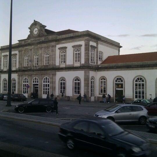 Photo taken at Estação Ferroviária de Porto-Campanhã by João P. on 11/11/2011