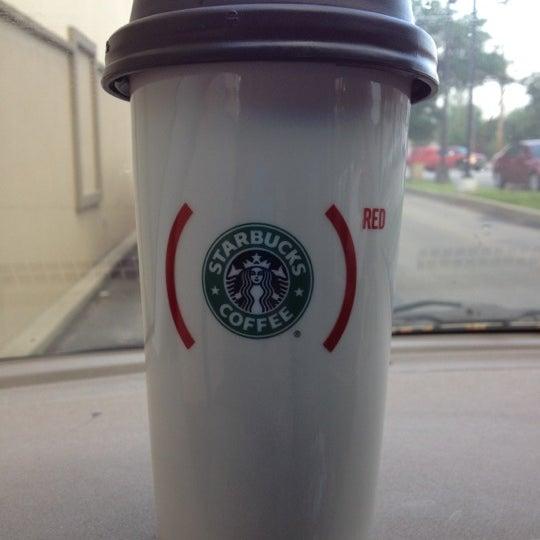 Photo taken at Starbucks by Megan K. on 5/8/2012