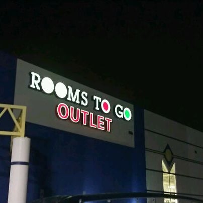 Rooms to Go - Clearwater OUTLET at US Highway 19 N in Florida store location & hours, services, holiday hours, map, driving directions and more Rooms to Go - Clearwater OUTLET, Florida - Location & Store Hours.