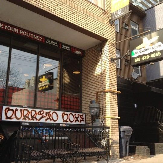 Photo taken at Burrito Boyz by Frazzi on 2/27/2012