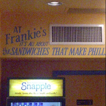 Photo taken at Frankie's South Philly Cheesesteaks and Hoagies by Bill C. on 5/26/2012