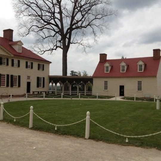 Photo taken at George Washington's Mount Vernon by Carole G. on 4/11/2012