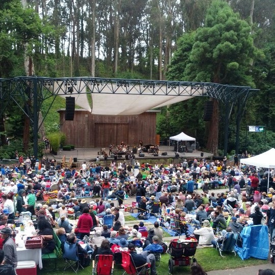 Photo taken at Sigmund Stern Grove by Nat W. on 7/1/2012