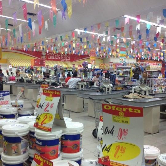 Photo taken at Yamada Plaza by Fernando V. on 6/27/2012