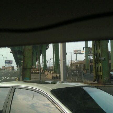 Photo taken at Hamilton Avenue Bridge by John M. on 9/4/2011